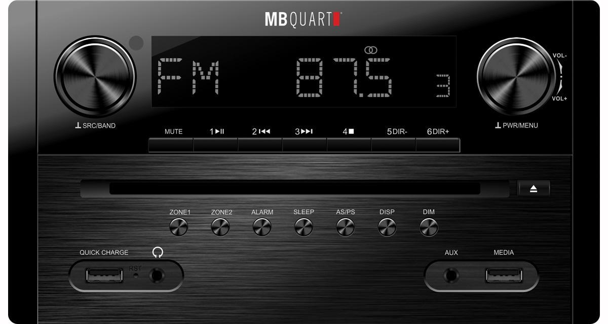 MB Quart dévoile un autoradio DVD multizone pour les camping-cars