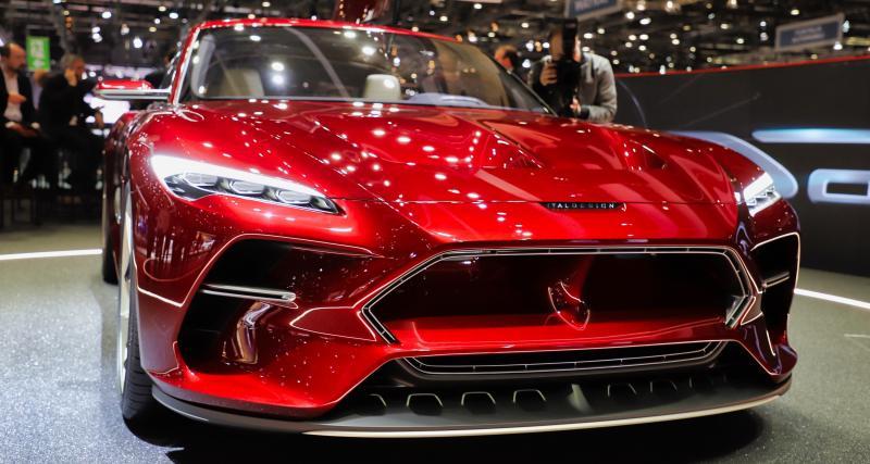 Salon de Genève - Italdesign DaVinci : nos photos de la GT électrique
