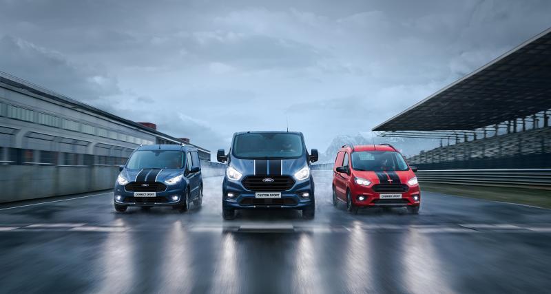 Ford Transit Sport : un moteur plus puissant
