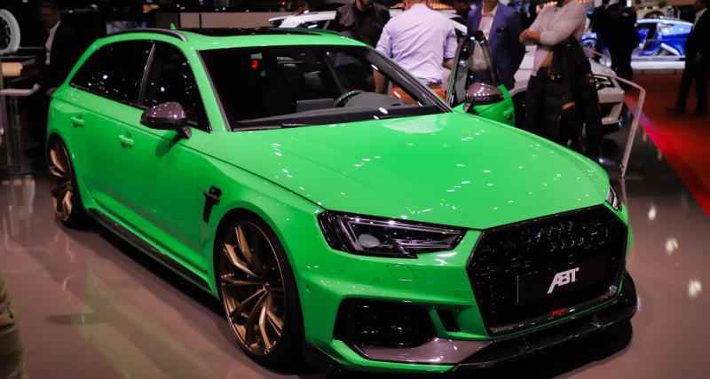 Salon de Genève - ABT Audi RS4+ : nos photos de l'édition limitée du break