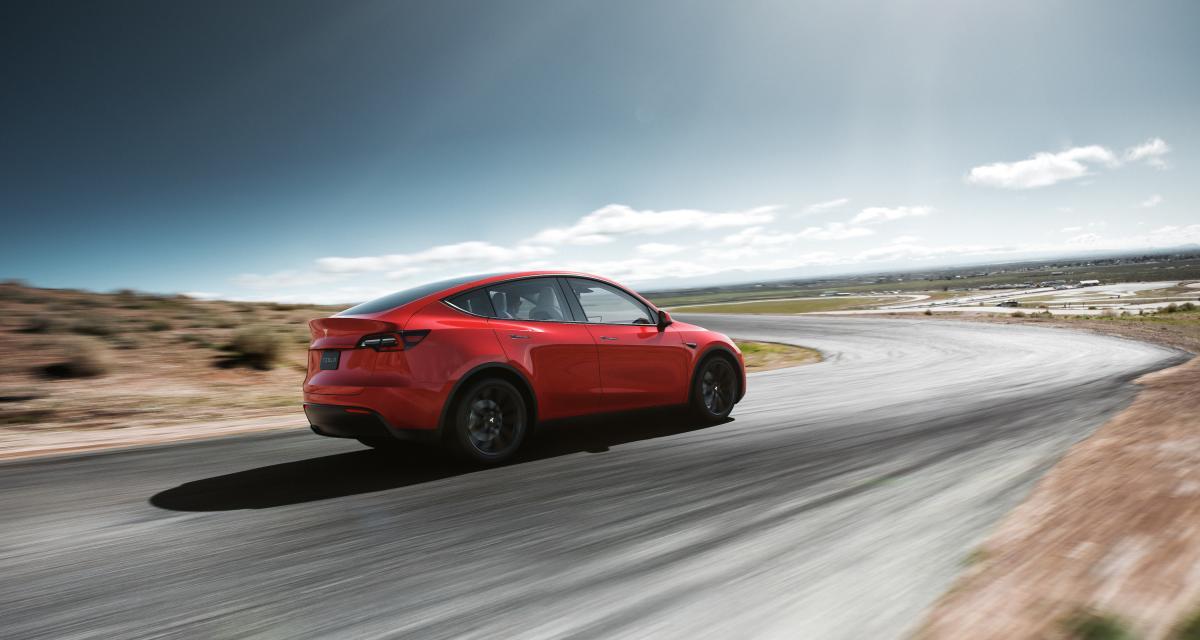 Tesla Model Y : toutes les photos du SUV compact électrique