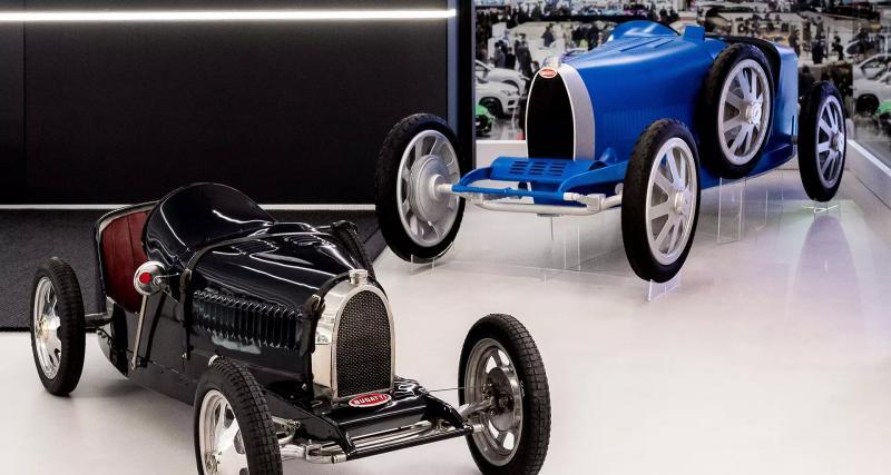 Bugatti repasse à l'électrique avec la Baby II !