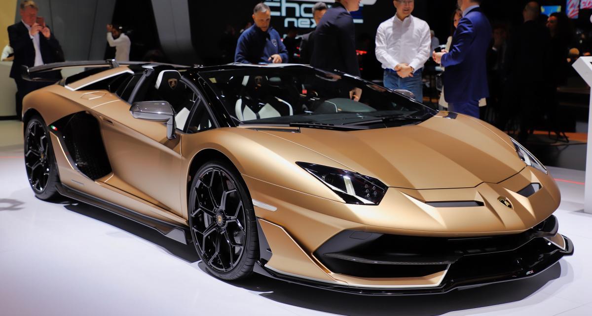 Salon de Genève - Lamborghini Aventador SVJ : nos photos de la version Roadster
