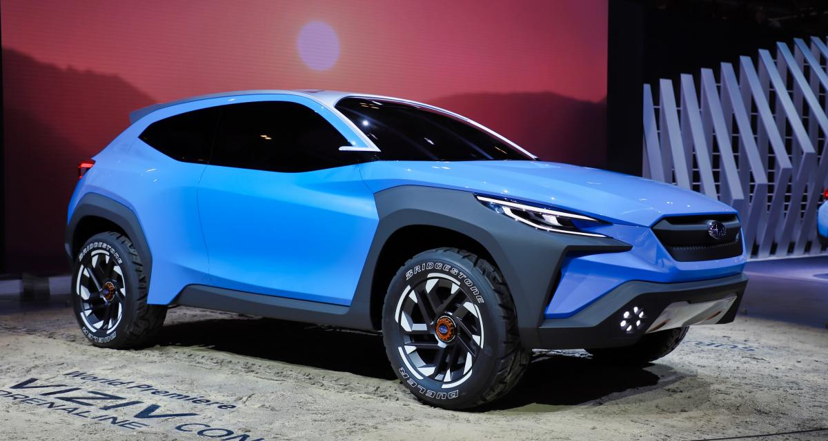 Salon de Genève - Subaru Viziv Adrenaline : nos photos du concept de crossover sportif