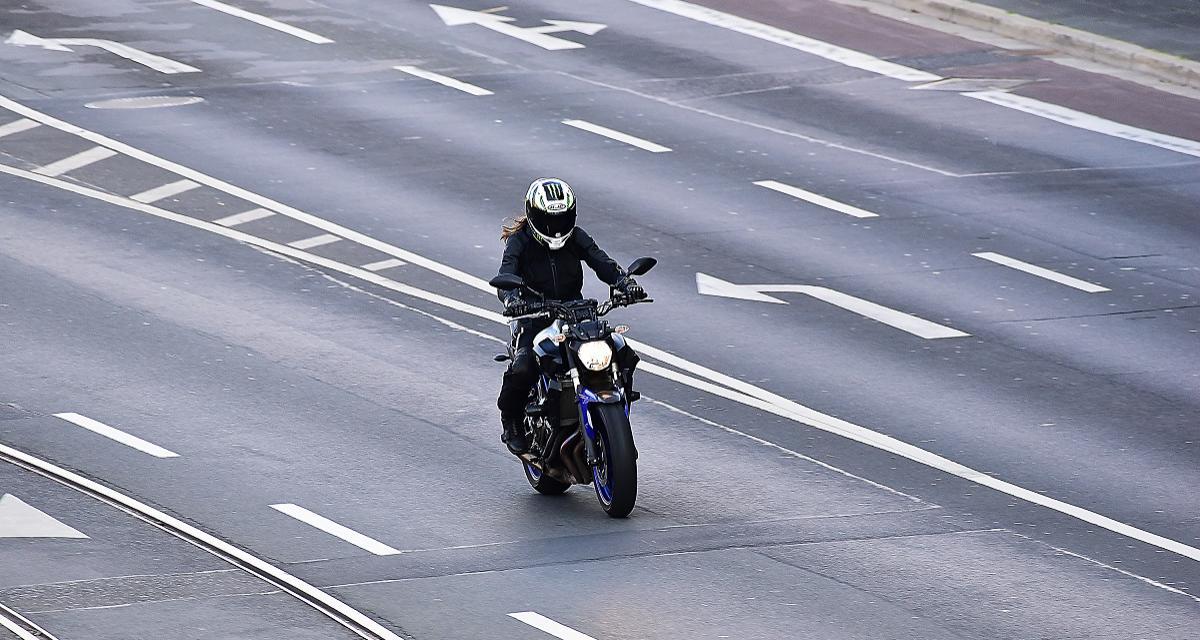 Flashé à moto à 163 km/h sur une départementale