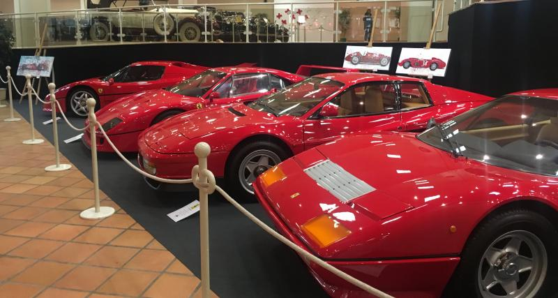 Exposition Ferrari à Monaco : nos photos exclusives