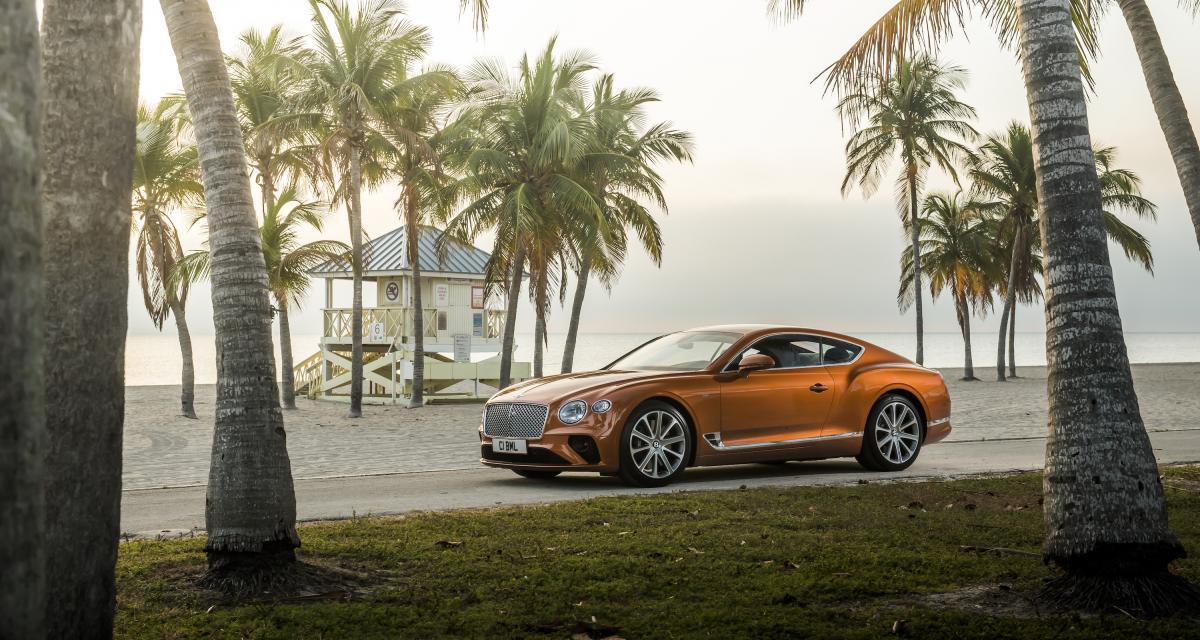 Bentley Continental GT Coupé : les photos officielles de la version V8