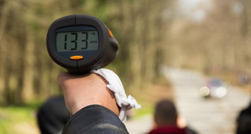 Flashé à 146 km/h sur une nationale