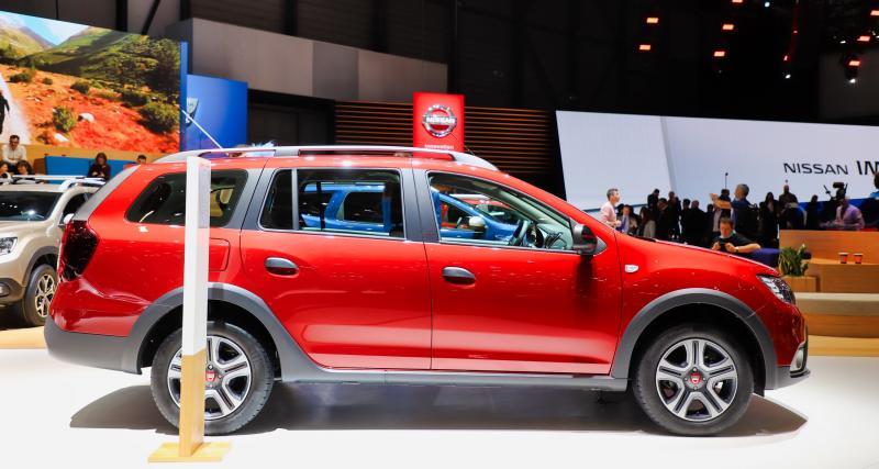 Dacia Logan MCV Rouge Fusion : les prix de la version Ultimate