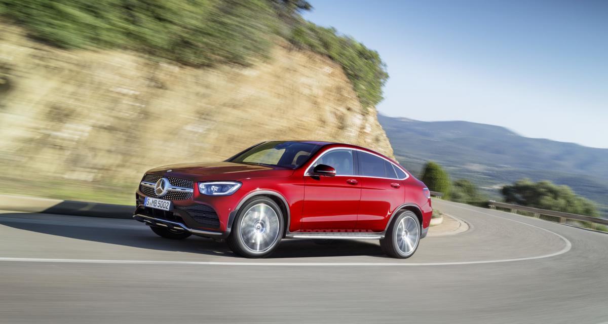 Mercedes GLC Coupé: le BMW X4 en ligne de mire