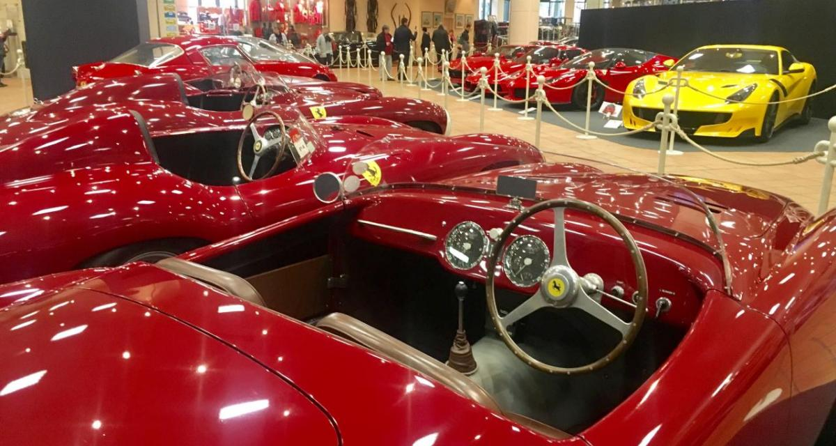 Exposition unique de Ferrari à Monaco: une collection exceptionnelle!