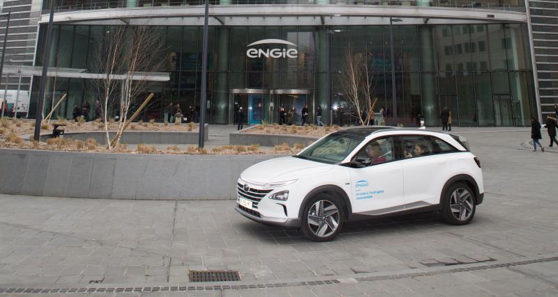Hyundai livre son premier Nexo hydrogène en France