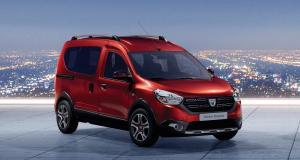 Dacia Dokker Ultimate : les prix de la version série limitée en Rouge Fusion