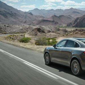 Porsche Cayenne Coupé : toutes les photos et la vidéo du SUV