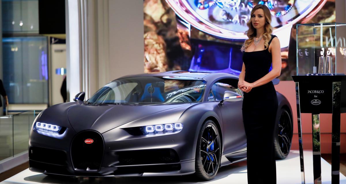 Bugatti Chiron 110 ans : nos photos à Baselworld 2019
