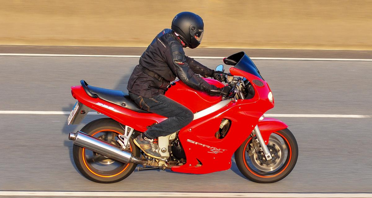 Un motard flashé à 222 km/h sur une route limitée à 110