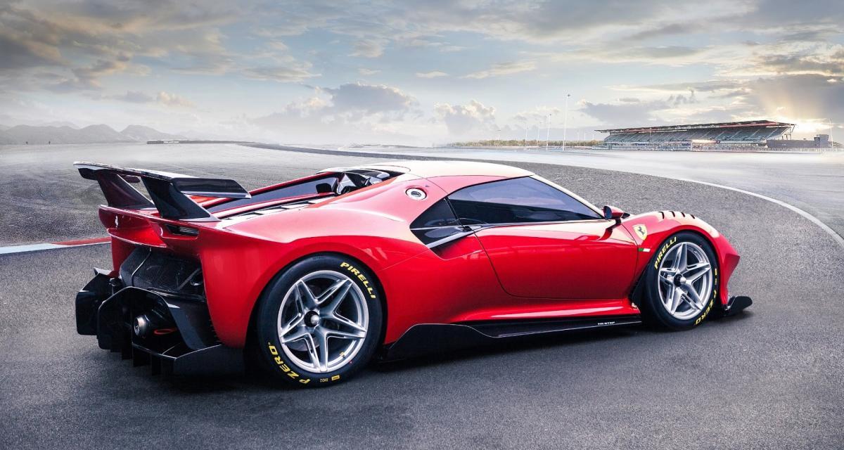 Ferrari Prototipo P80C : l'hypercar superlative