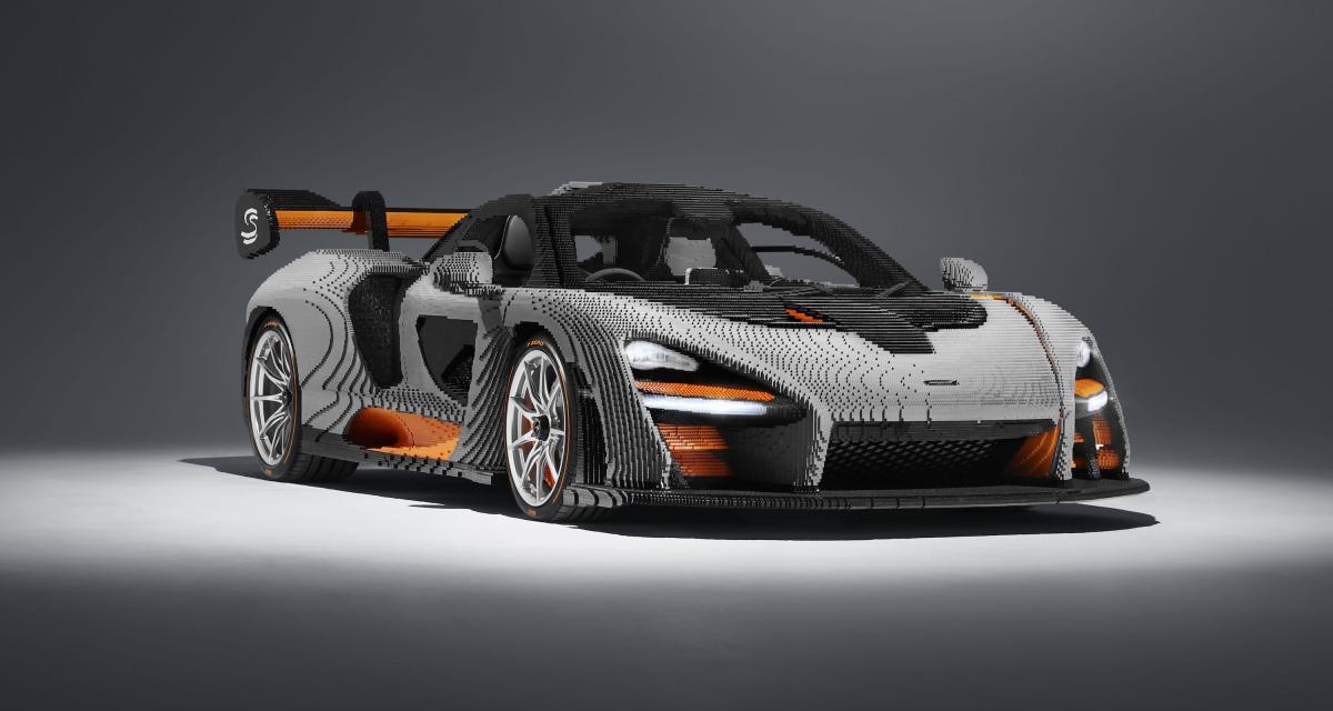 McLaren Senna Lego : une œuvre d'art de 467 000 pièces !