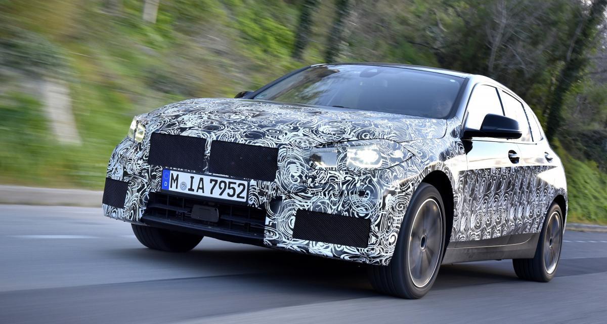 Nouvelle BMW Série 1 : derniers tours de chauffe