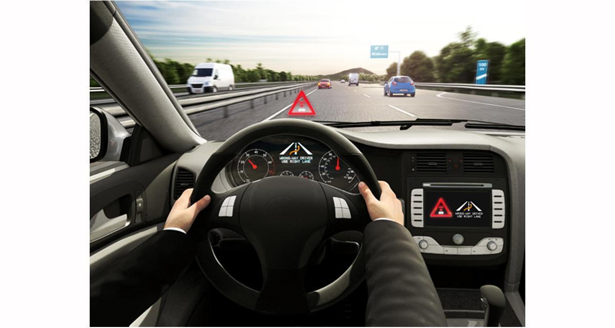 Bosch lance un système d'alerte de véhicule à contresens