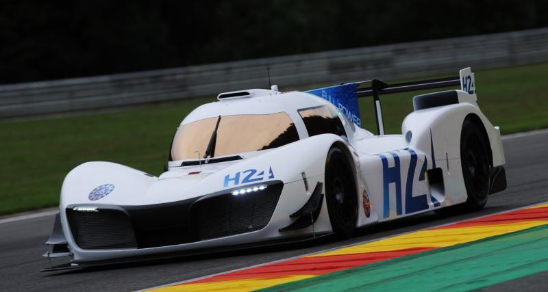 Le prototype LMPH2G va rouler au Mans ce jeudi