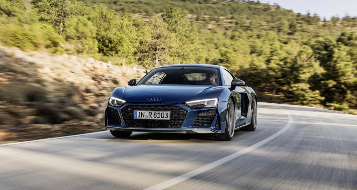 Tarifs Audi R8 restylée : tous les prix du Coupé GT aux anneaux