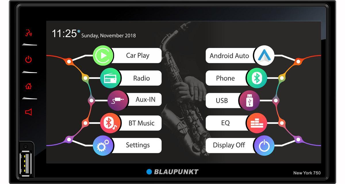 Blaupunkt va commercialiser un autoradio multimédia Android Auto et CarPlay