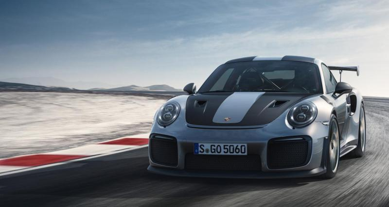 Porsche 911 type 991 GT2 RS : elle bat le record à Road Atlanta