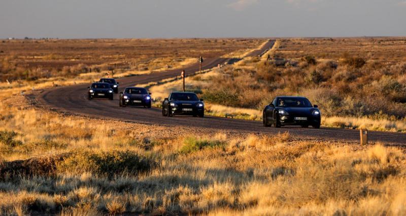 Porsche Taycan : 6 millions de kilomètres de tests pour la sportive électrique