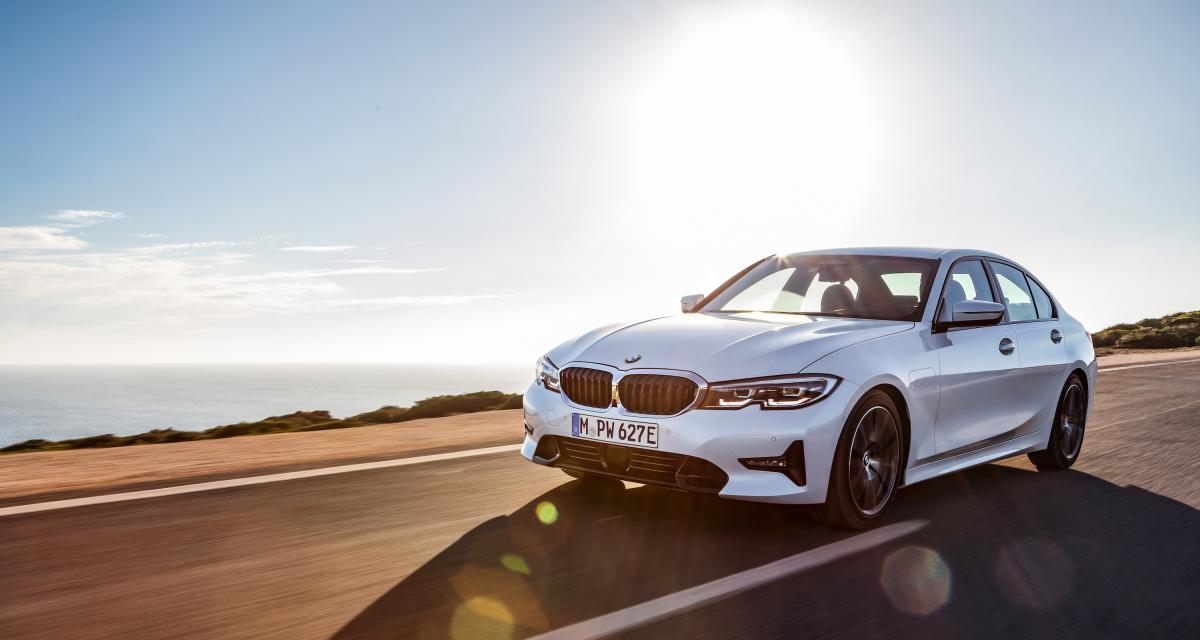 BMW Série 3 Hybride: le poisson d'avril simple et efficace