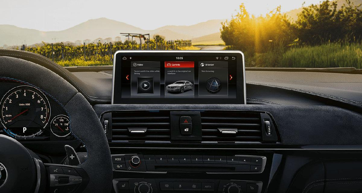 Un autoradio Android 8.1 pour les BMW Serie 3 2018 chez Eonon