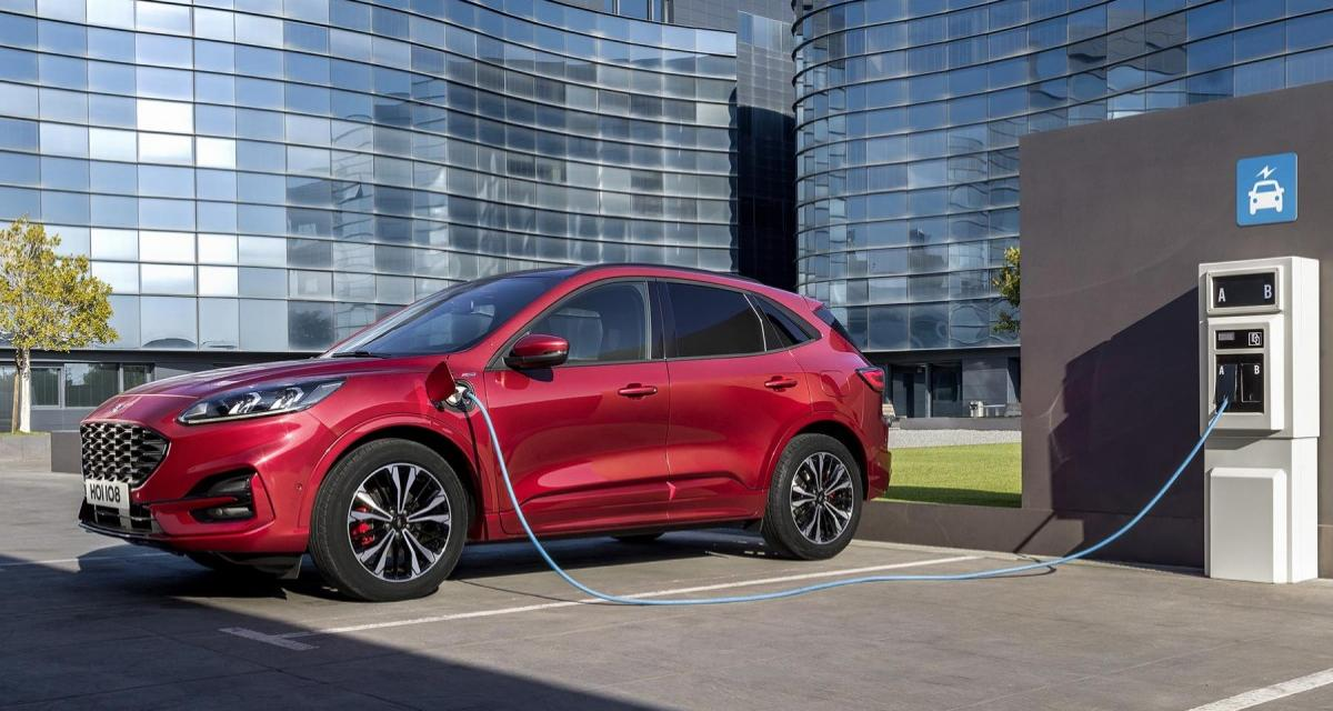 Nouveau Ford Kuga: un SUV hybride à tous les étages