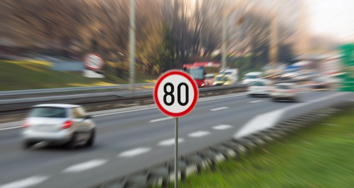 Flashé au volant de sa voiture à 185 km/h sur une nationale
