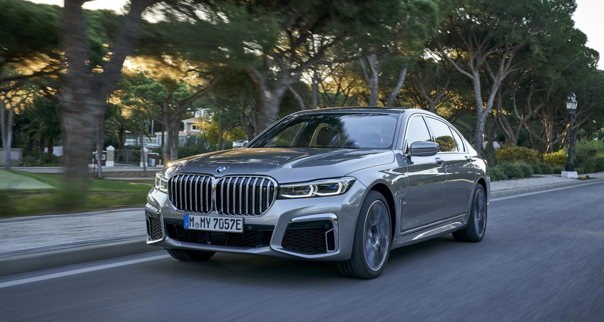 BMW Série 7: les photos de l'essai international au Portugal