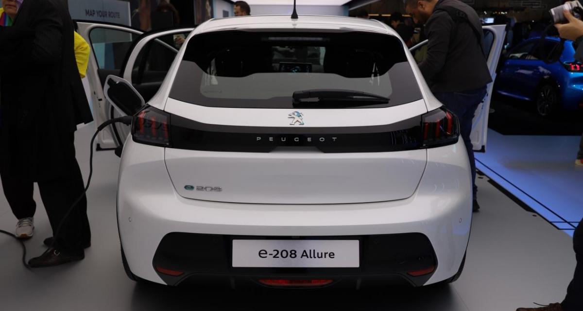 Peugeot e-208 électrique: c'est déjà un carton!