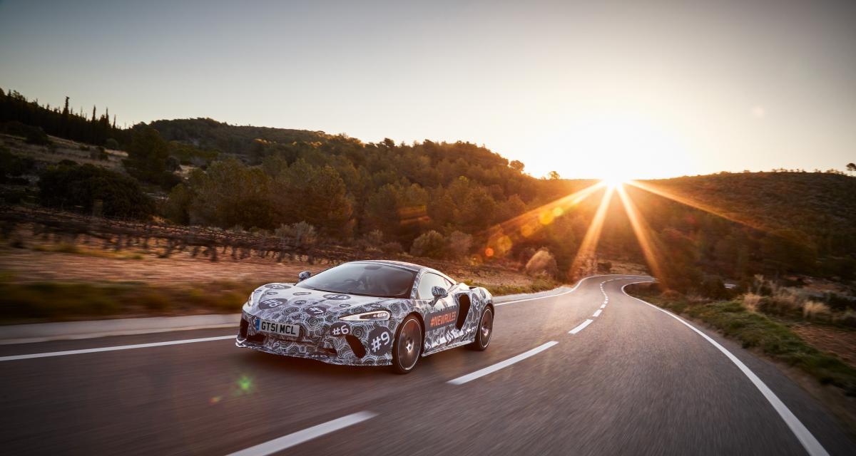 McLaren Grand Tourer : montée en puissance