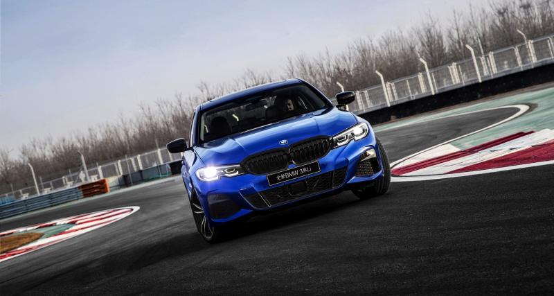 BMW Série 3 Chinoise : plus longue pour le marché chinois