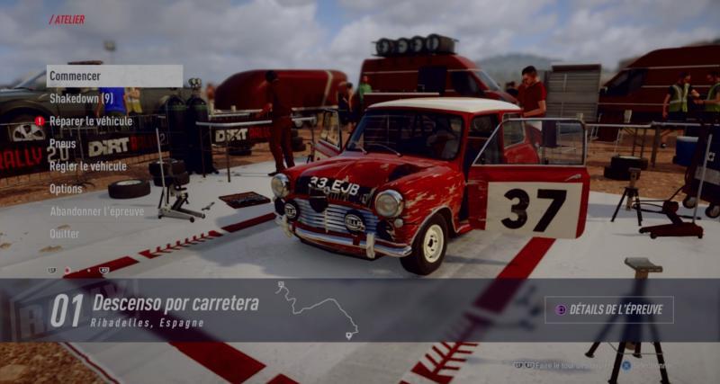 Test Dirt Rally 2.0: le résumé de notre prise en main du jeu