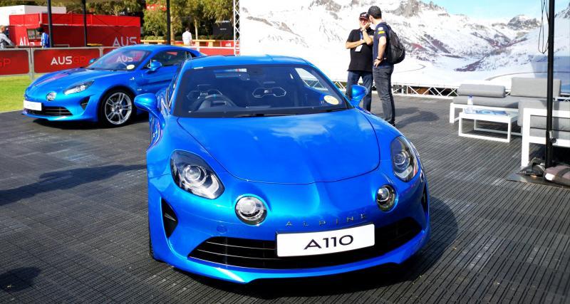 Alpine A110 : un patron met la sportive à disposition de ses employés !