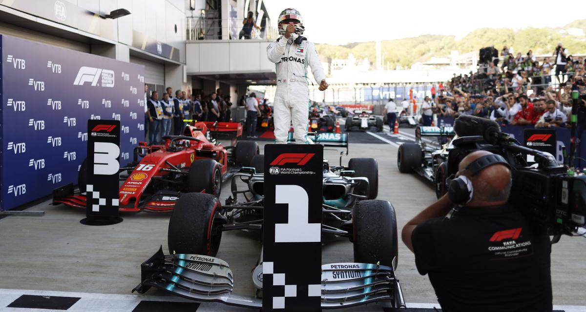 Formule 1 : le classement des pilotes 2019