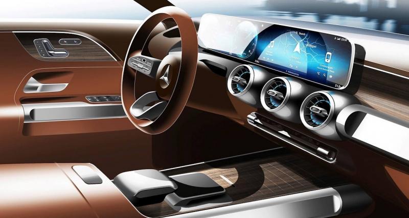 Mercedes GLB : premier teaser vidéo du SUV