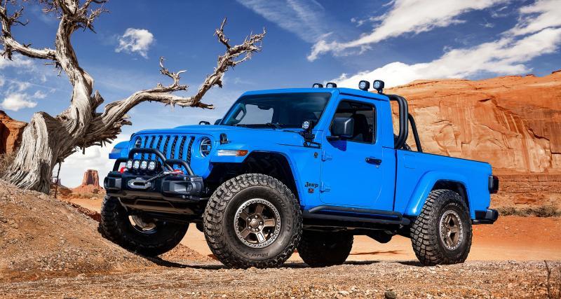 Mob Easter Jeep Safari 2019: les photos des six nouveaux concepts