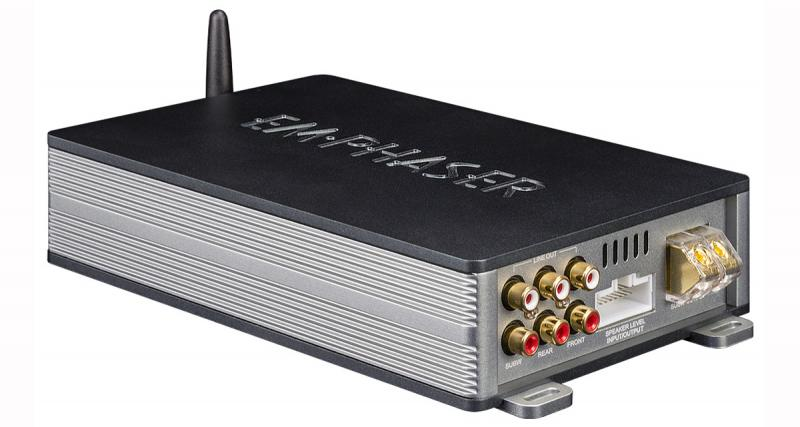 Emphaser dévoile un ampli numérique avec DSP contrôlable par Smartphone
