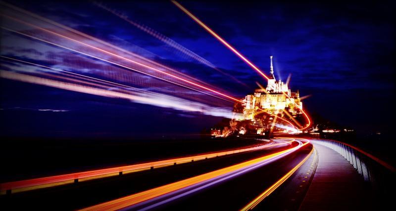 Mont-Saint-Michel : flashé à 192 km/h !