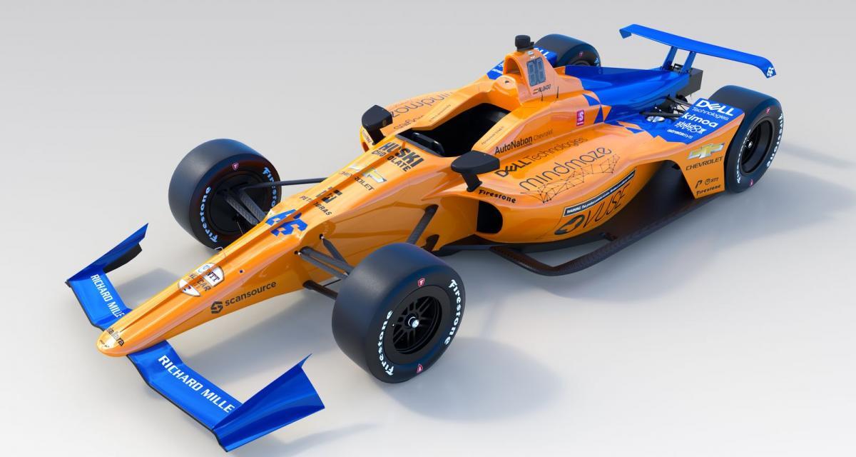 500 Miles d'Indianapolis: McLaren dévoile la monoplace de Fernando Alonso