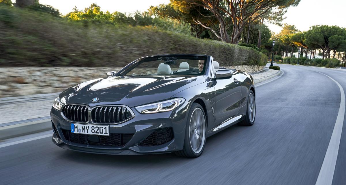 Nouvelle BMW Série 8 Cabriolet: les photos et la vidéo de l'essai au Portugal