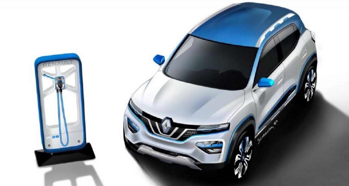 Renault City K-ZE : un petit SUV électrique pour la Chine
