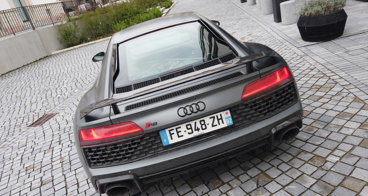 Essai de l'Audi R8 Coupé restylée : nos photos dans l'Est de la France
