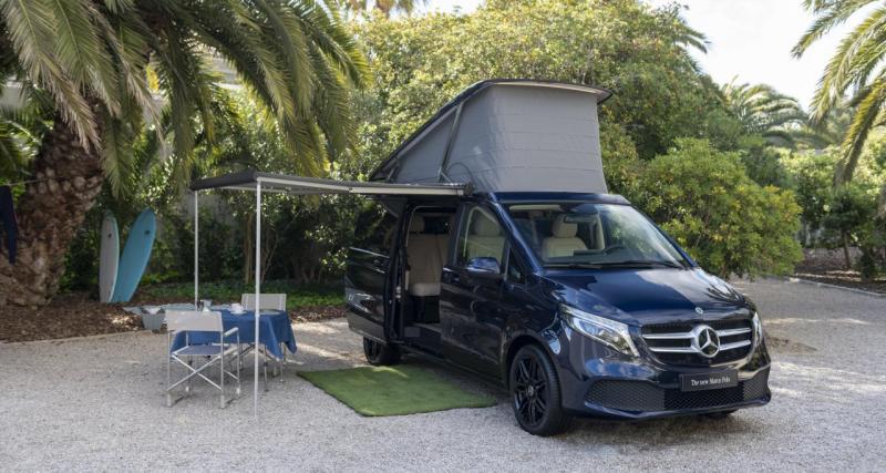Photos du Mercedes Classe Vrestylé : un monospace à l'esprit camping-car