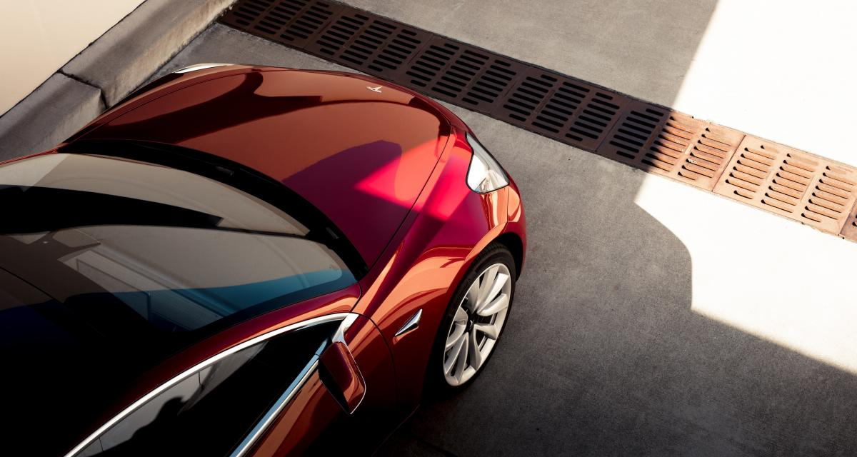 Tesla Model 3: voiture la plus vendue en Suisse!